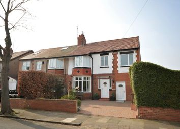 Thumbnail 5 bed semi-detached house for sale in Dale Road, Monkseaton, Whitley Bay