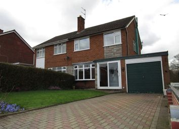 Thumbnail 3 bed semi-detached house for sale in Manor House Park, Bilbrook, Wolverhampton