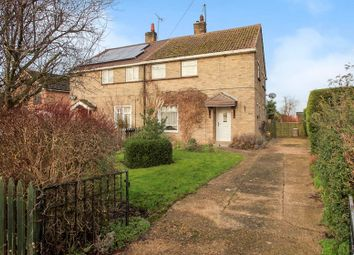 Thumbnail 3 bedroom semi-detached house for sale in Church Walk, Upton, Peterborough
