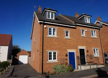 Thumbnail 3 bed semi-detached house for sale in Dairy Way, Leicester