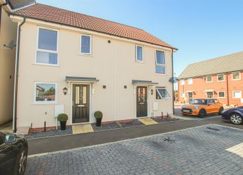 Thumbnail 2 bed semi-detached house for sale in Cherry Paddocks, Cherry Willingham, Lincoln