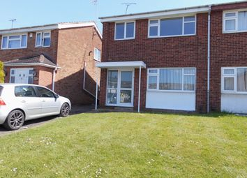 Thumbnail 3 bed semi-detached house for sale in Rushford Drive, Leicester