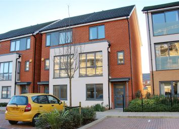 Thumbnail 4 bed end terrace house to rent in Drake Way, Kennet Island, Reading