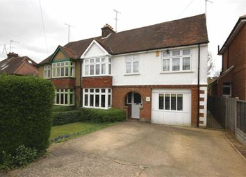 Thumbnail 4 bedroom semi-detached house for sale in West Way, Harpenden, Hertfordshire