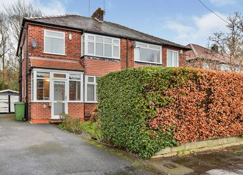 Thumbnail 3 bed semi-detached house for sale in Grendale Avenue, Hazel Grove, Stockport, Greater Manchester