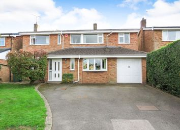 Thumbnail 5 bed detached house for sale in Woods Close, Oadby, Leicester
