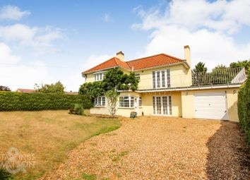 Thumbnail 3 bed detached house for sale in Fakenham Road, Lenwade, Norwich