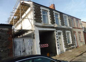 Thumbnail 4 bedroom end terrace house for sale in Lucas Street, Cathays, Cardiff