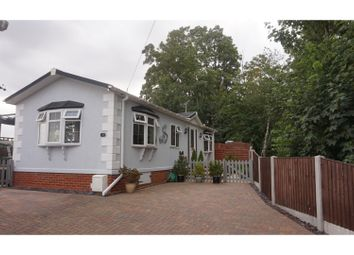 Thumbnail 2 bed mobile/park home for sale in Gosfield Lake Park, Halstead