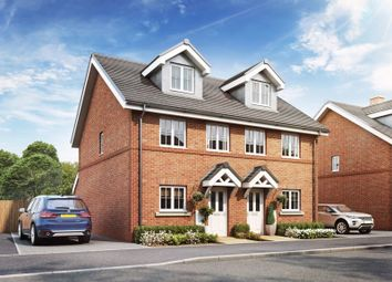 Thumbnail 3 bed semi-detached house for sale in Burnetts Lane, Horton Heath, Eastleigh