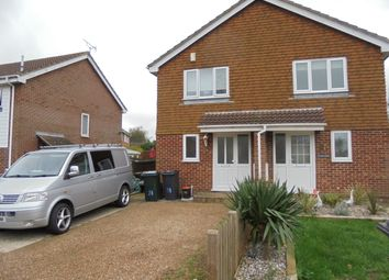 Thumbnail 2 bed semi-detached house to rent in Newlands, Ashford Kent