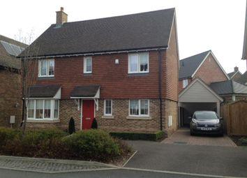Thumbnail 4 bed detached house for sale in Alexander Road, Harrietsham, Kent