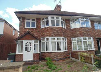 Thumbnail 3 bedroom semi-detached house to rent in Salisbury Street, Beeston, Nottingham