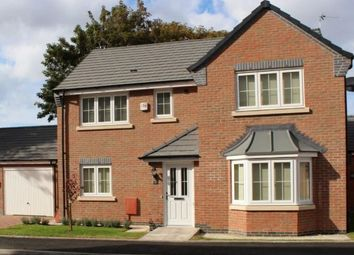 Thumbnail 4 bed detached house for sale in Soke Road, Newborough, Peterborough