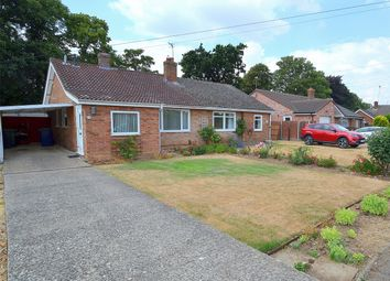 Thumbnail 2 bed semi-detached bungalow for sale in Parkside, Little Paxton, St Neots, Cambridgeshire