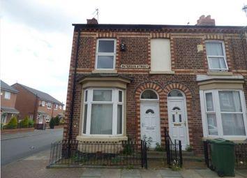 Thumbnail 3 bed end terrace house for sale in 1 Paterson Street, Birkenhead, Merseyside