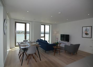 Thumbnail 3 bed flat to rent in Laker House, Royal Wharf, 10 Nautical Drive, London
