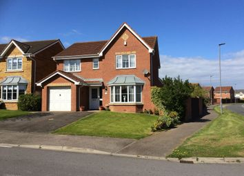 Thumbnail 4 bed detached house for sale in Harvester Close, Hartlepool