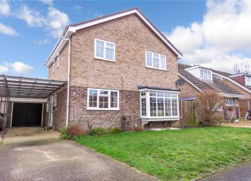 Thumbnail 3 bed detached house for sale in Ashby Drive, Upper Caldecote, Biggleswade, Bedfordshire