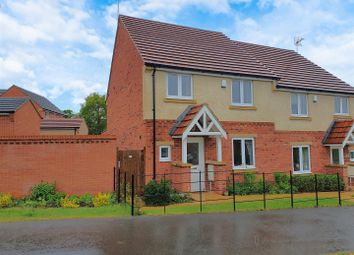 Thumbnail 3 bed semi-detached house for sale in Moore Gardens Close, Rothley, Leicester