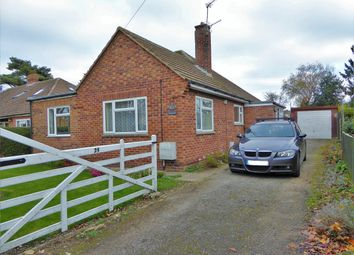 Thumbnail 3 bed detached bungalow to rent in Back Lane, West Winch, King's Lynn