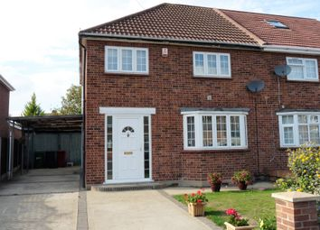 Thumbnail 3 bed semi-detached house for sale in Stanton Way, Langley