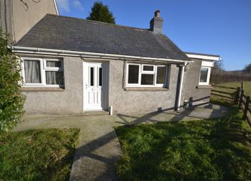 Thumbnail 1 bed semi-detached bungalow to rent in Drefach, Llanybydder