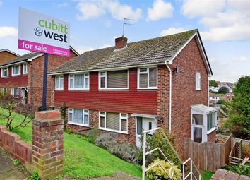 Thumbnail 3 bed semi-detached house for sale in Lindfield Close, Saltdean, Brighton, East Sussex