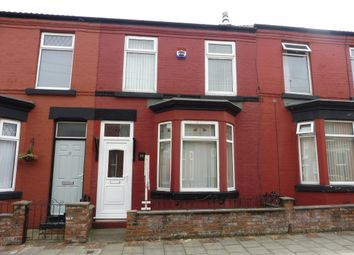 Thumbnail 3 bed terraced house to rent in Brill Street, Birkenhead