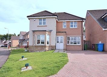 Thumbnail 4 bedroom detached house for sale in Langhaul Road, Glasgow