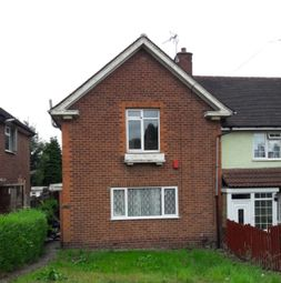 Thumbnail 3 bed end terrace house to rent in Bottetourt Road Harborne, Birmingham, Birmingham