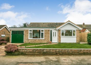 Thumbnail 3 bed bungalow for sale in Tourney Close, Lympne, Kent United Kingdom