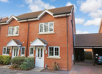 Thumbnail 4 bed town house for sale in Hindmarch Crescent, Hedge End, Southampton