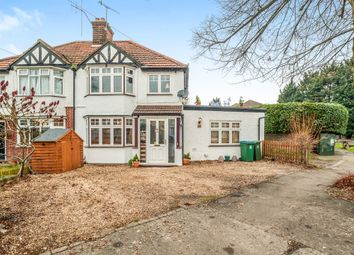 Thumbnail 3 bed semi-detached house for sale in Leggatts Way, Watford