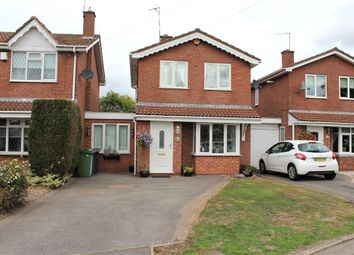 Thumbnail 3 bed detached house for sale in Lowry Close, Bedworth, Warwickshire