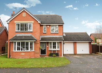 Thumbnail 4 bed detached house for sale in Woburn Drive, Congleton