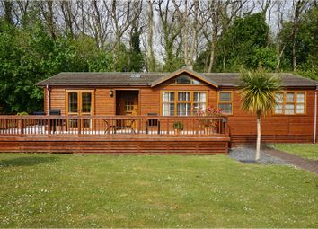 Thumbnail 2 bed lodge for sale in St. Minver, Wadebridge
