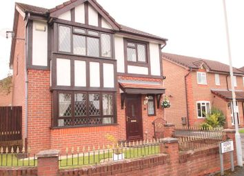 Thumbnail 3 bed detached house for sale in Poppy Close, Manchester
