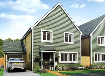 Thumbnail 4 bed link-detached house for sale in The Woodlands, Sandy Lane, Church Crookham