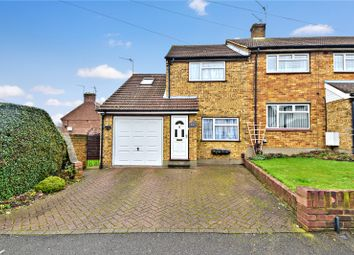 Thumbnail 3 bed end terrace house for sale in Common Lane, Wilmington, Dartford, Kent