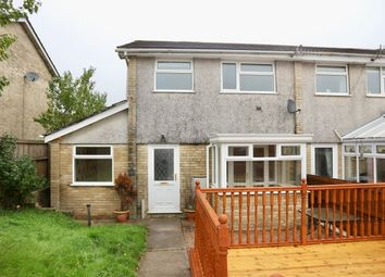Thumbnail 3 bed semi-detached house for sale in Chepstow Close, Castle Park, Merthyr Tydfil