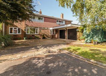 Thumbnail 5 bedroom detached house for sale in Churchill Close, Streatley, Bedfordshire