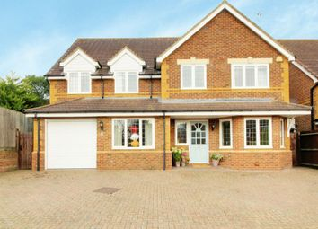 Thumbnail 5 bedroom detached house for sale in Athenia Close, Goffs Oak, Waltham Cross