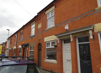 Thumbnail 2 bedroom terraced house for sale in Marshall Street, Woodgate, Leicester