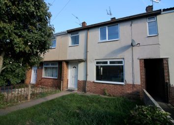 Thumbnail 3 bed terraced house to rent in Thackeray Street, Sinfin, Derby
