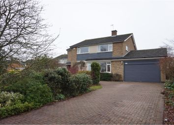 Thumbnail 4 bed detached house for sale in Coverside Road, Leicester