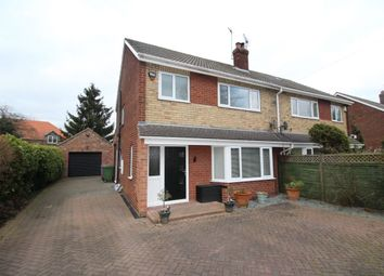 Thumbnail 3 bed semi-detached house for sale in Knedlington Road, Howden, Goole