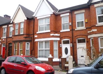 Thumbnail 3 bed terraced house to rent in Neville Road, Waterloo, Liverpool