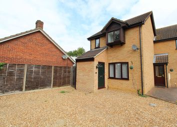 Thumbnail 3 bed end terrace house for sale in Normans Close, Great Barford