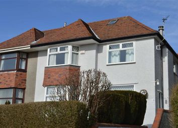 Thumbnail 3 bedroom semi-detached house for sale in Lon Cadog, Swansea